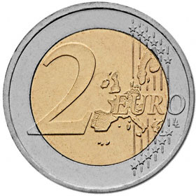 2 Euro Deutschland 2008 Hamburger Michel