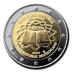 2 Euro Deutschland 2007 50 Jahre Römische Verträge
